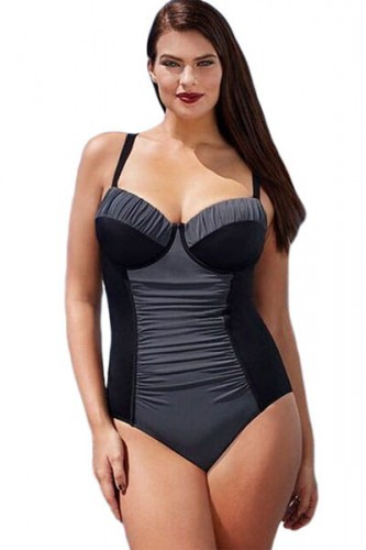 Black-Grey-Color-Block-Ruched-Plus-One-Piece-Swimsuit-LC410028-2-1.jpg