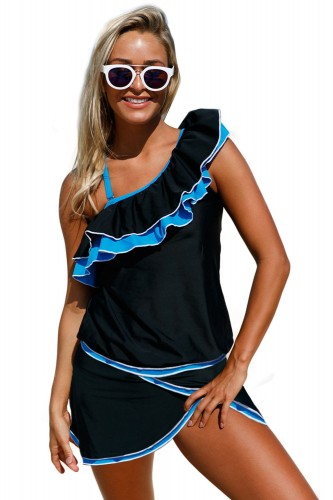 Blue-Ruffle-Detail-One-Shoulder-Tankini-Swimsuit-LC410202-4-1.jpg