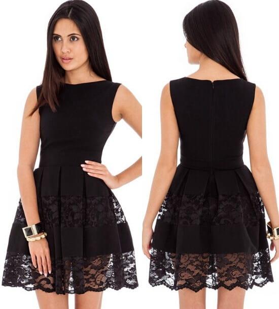 bf10114e5c Śliczna rozkloszowana sukienka